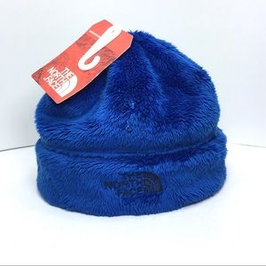 North Face Osito Beanie Hat Baby Infant Blue Boy